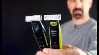Philips Norelco OneBlade vs MicroTouch Solo