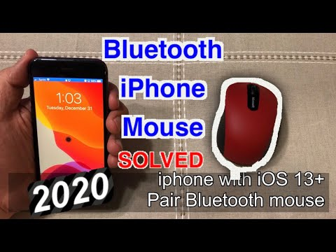 Bluetooth iPHONE and MOUSE in 5 minutes (Solved 2020)
