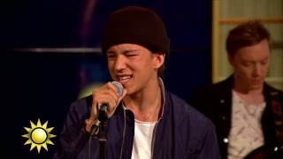 Frans - If I Were Sorry (Live) - Nyhetsmorgon (TV4)