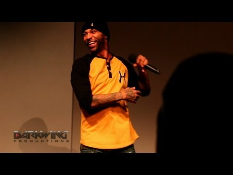 "Joe Budden performs ""NBA"" Live at the Apple Store"