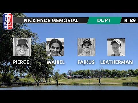 2017 DG Pro Tour - Nick Hyde Memorial - Paige Pierce, Melody Waibel, Lisa Fajkus, Hannah L (R1B9)