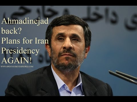 Iran's ex-president Ahmadinejad back? Demands $2 billion from U.S. & May run for President AGAIN!