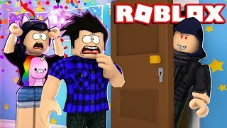 A BANDIT wants to INVADE the party! -ROBLOX (House Party)