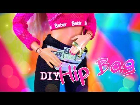 DIY - How to Make: Doll Hip Bag | Paper Crafts