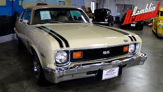 1974 Chevrolet Nova 350 V8 Four-Speed - Fast Lane Classic Cars