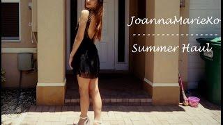 Summer Clothing Haul & Try On // Joanna Marie