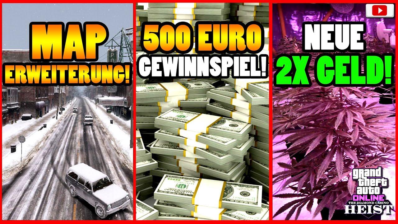 🙌Alle Neuen Inhalte!🙌 MAP ERWEITERUNG! 3X GELD! GRATIS GP1 + Mehr! GTA 5 Online Casino Heist Update