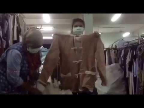 รีวิวกระสอบเสื้อผ้ามือสองโค้ท กันหนาวผ้าวูล 110HK เก๋กู๊ดสกู๊ตเตอร์