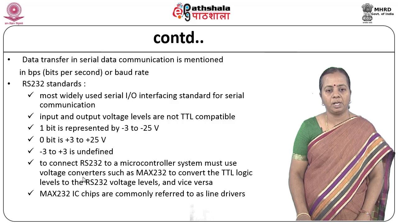 Serial Port Programming in Embedded C (CS)
