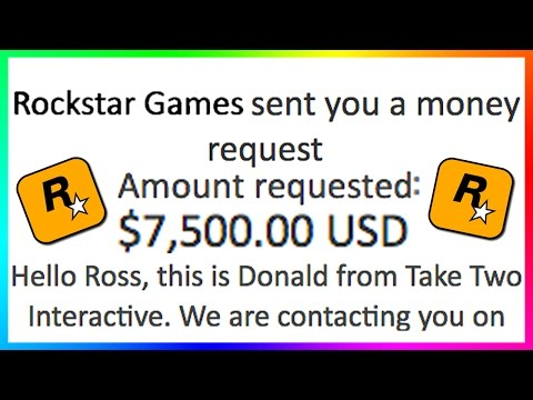 WARNING! - ROCKSTAR GAMES WANTS $7,500.00 FROM ME? - HUGE MONEY SCAM FOR PLAYING GTA ONLINE! (GTA 5)