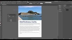 How to do a word count within Indesign