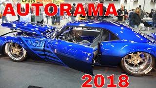AUTORAMA 2018 DETROIT MICHIGAN HOT ROD SHOW