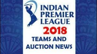 2018 ipl player list