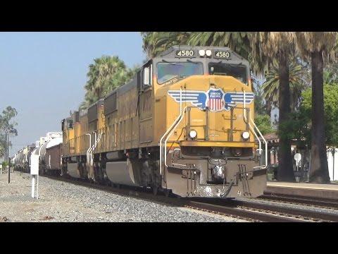 Railfanning Ontario (California) - 8/10/16
