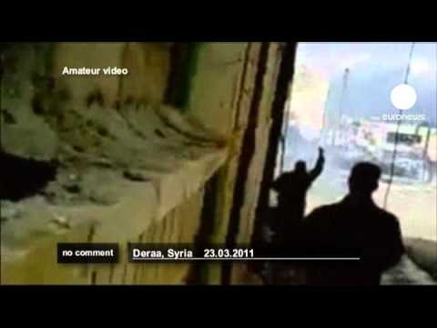 Syria: bloody scenes in Deraa - no comment
