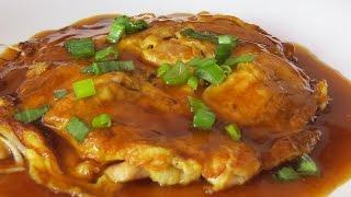 la mejor receta de fu yong de huevo de la comida china