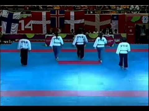 GOLD - World Taekwondo Championships 2014 - Freestyle Mixed Team Over 17 - Philippines