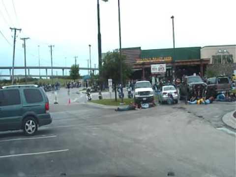 LiveLeak Channel - LiveLeak - New Police dashcam footage of Waco, Texas biker shooting (9 dead).avi