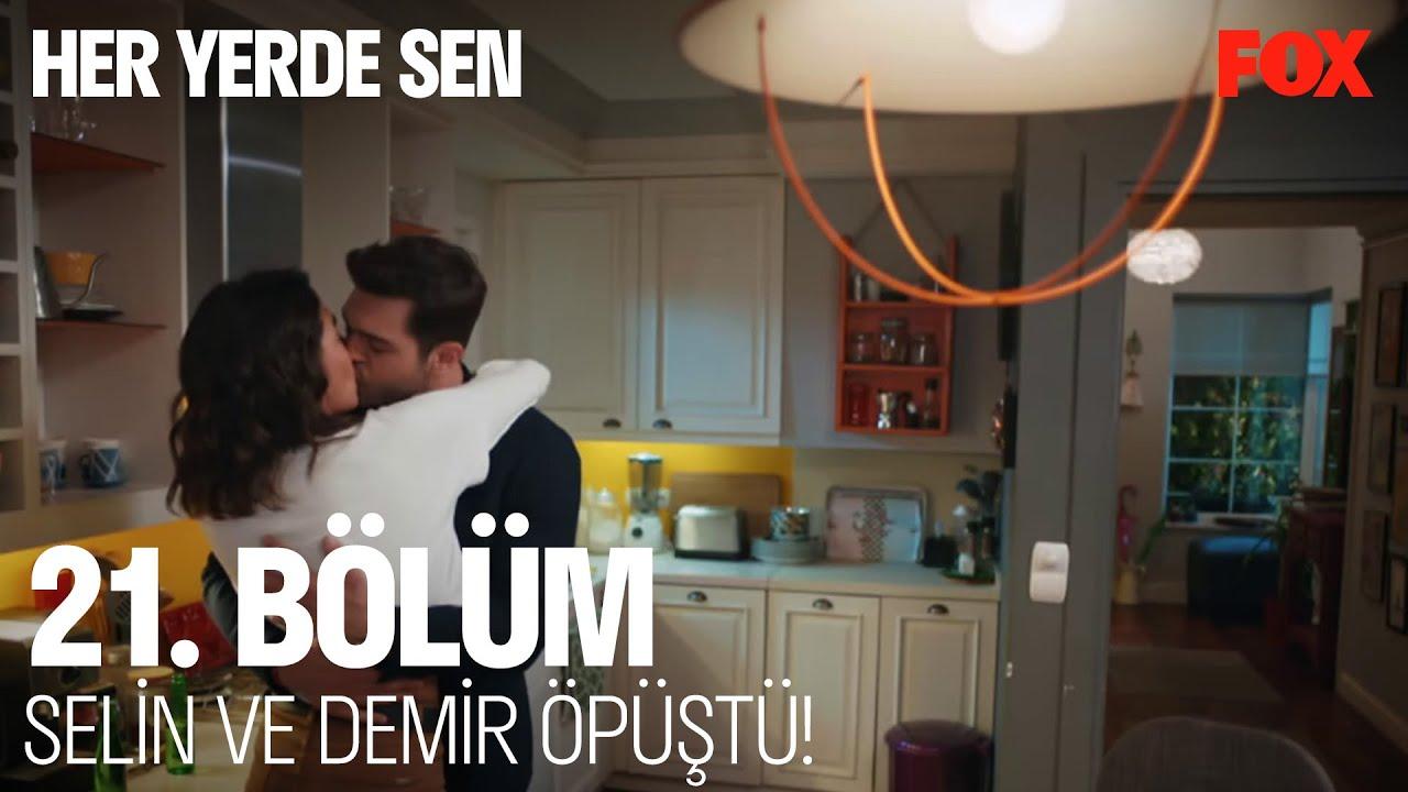 Download Selin ve Demir öpüştü!  Her Yerde Sen 21. Bölüm