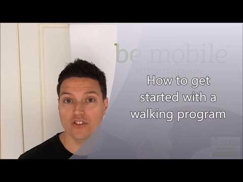 Starting a Walking Program