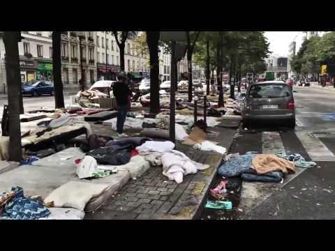 Migrants Occupy Paris, France - Europe Under Siege In Global Migrant Crisis