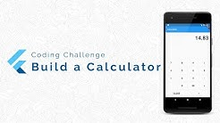 Flutter Coding Challenge: Building a Calculator App