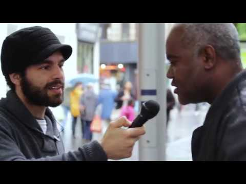 How to guarantee a place in heaven (honest street interview)