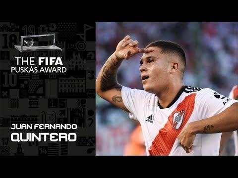 fifa-puskas-award-2019-finalist:-juan-fernando-quintero