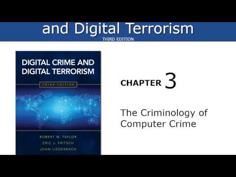 Chapter 3 Lecture The Criminology of Computer Crime