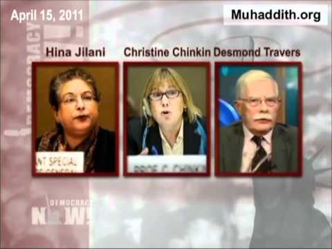 Israeli Cast Lead Operation Were Warcrimes In Gaza, Goldstone Report Stands, Democracy Now