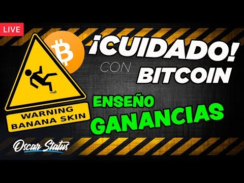 ⚠️PRECAUCIÓN CON BITCOIN Y EL MERCADO DE CRIPTOMONEDAS!! | Enseño mis Ganancias en vivo