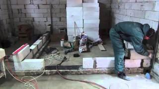 Как сделать перегородку из газобетонных блоков своими руками(Как сделать перегородку из газобетонных блоков. Перегородка и газоблоков на клей. Как класть газобетон...., 2015-12-14T20:52:03.000Z)