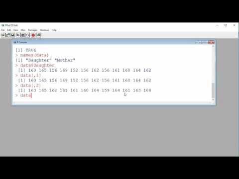 Importing data from a file with R