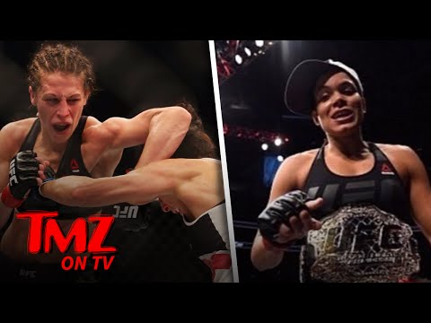 We Now Know Why Amanda Nunes Pulled Out Of UFC 213 | TMZ TV