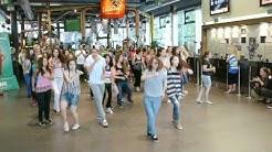 Flash Mob Street Dance und Salsa im Cinedome in Abtwil - Teil 2