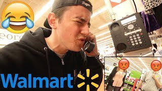 Silly Noises On The Walmart INTERCOM (KICKED OUT)