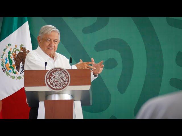 Atención y oportunidades pacificarán a Sinaloa. Conferencia presidente AMLO