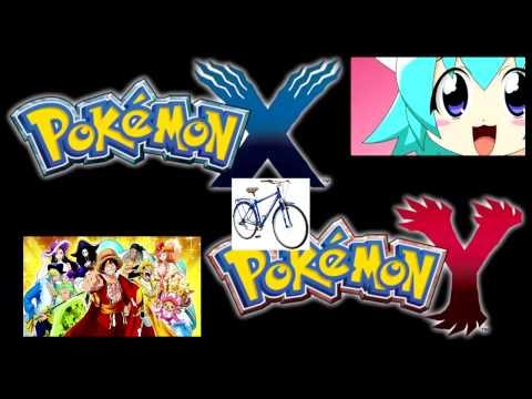 Pokémon X/Y Bicycle Theme : One Piece Pururin Remix