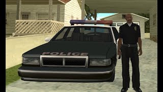 Officer Carl Johnson completes the mission Against All Odds - Badlands mission 7 - GTA San Andreas