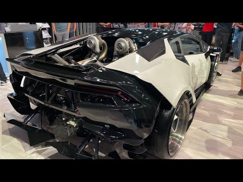 B Is For Build Lamborghini Huracan AKA Burtacan Sema Walk Around And Beauty Shots