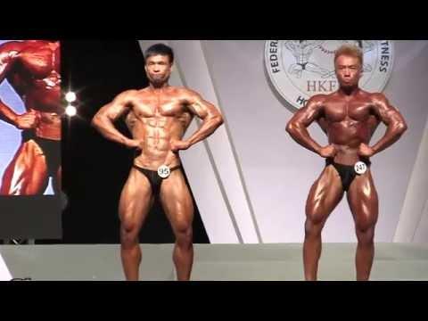 HKFBF 2014 (Nationals) - Comparisons Chris Leung versus Wong HS 黃宏勝