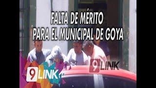 C9 - Falta de mérito para el municipal de Goya