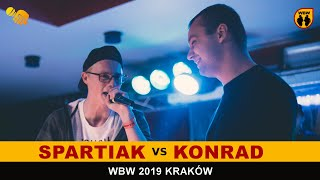 KONRAD vs SPARTIAK WBW2K19 Kraków (finał) Freestyle Battle