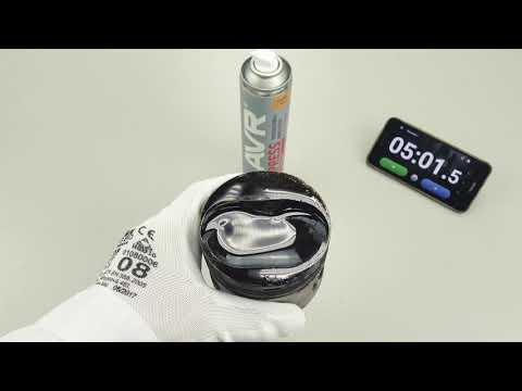 Аэрозольная раскоксовка LAVR EXPRESS. Тест на очищающую способность