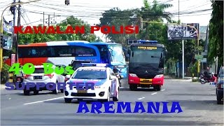MANUVER 40 BIS !!! Rombongan Supporter AREMANIA Menuju Bogor