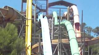 OMFG! The Beast Water Slide in Mallorca