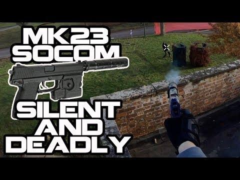 Tokyo Marui MK23 Socom - Silent & Deadly | Airsoft Gameplay | TM ASG STTi