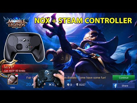 Mobile Legend REVIEW STEAM CONTROLLER (Gamepad/Joystick)
