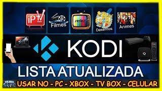 🎮 Configurar o KODI + Lista IPTV Atualizada 2019 - Recomendo 100% ON