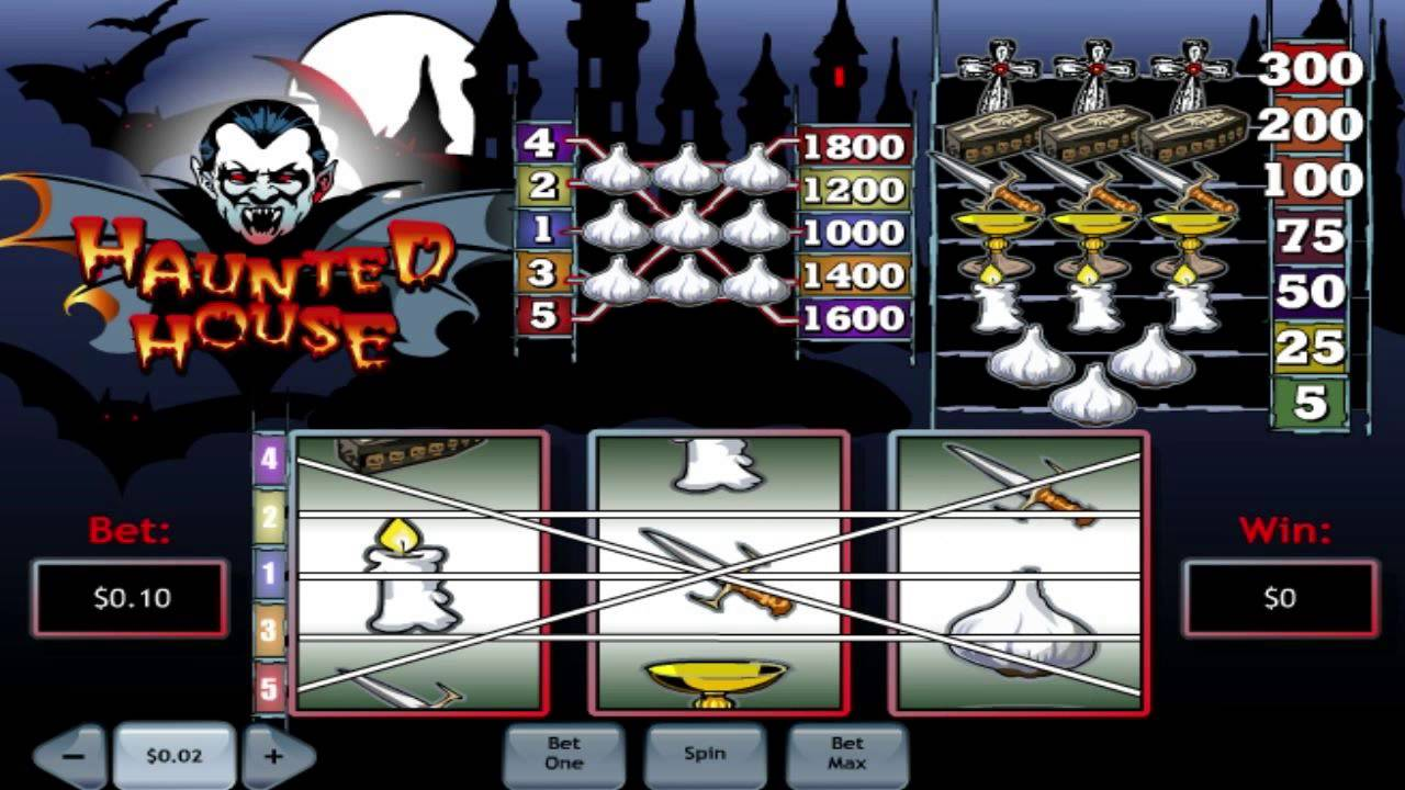 Free Haunted House Slot Machine Online